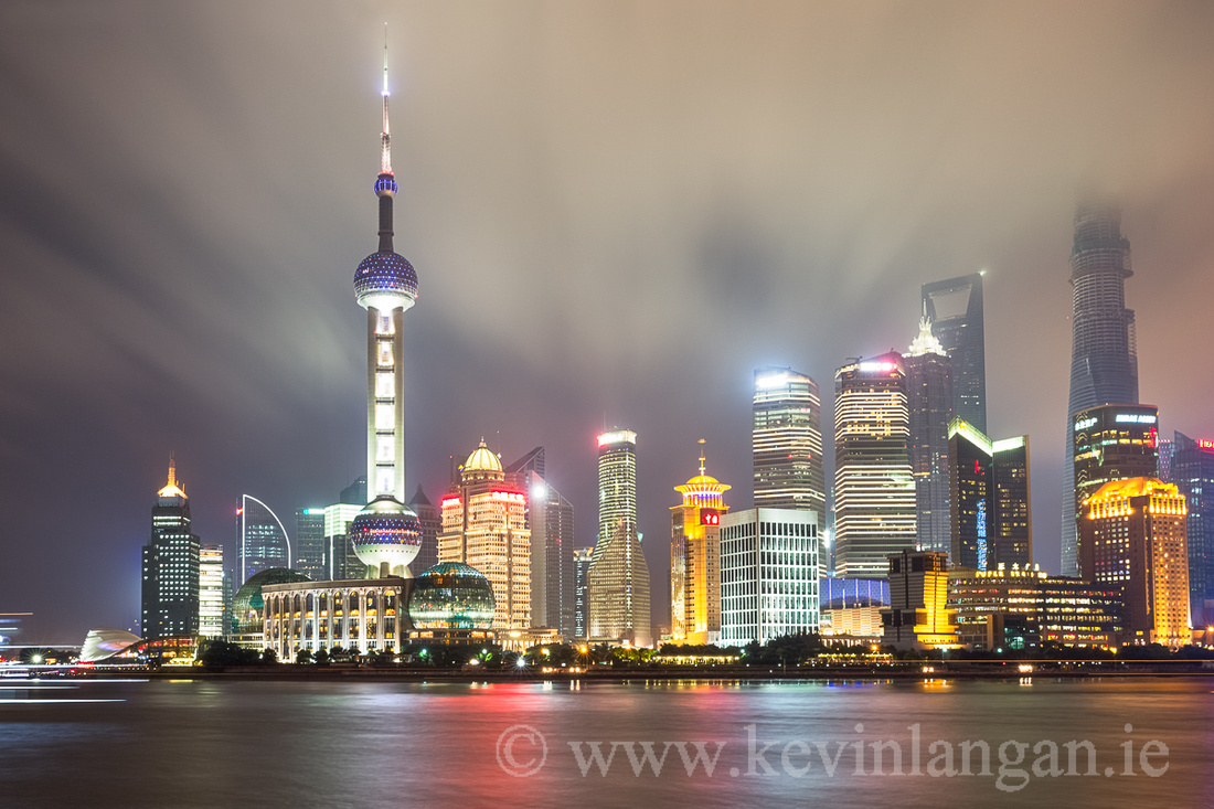 The Pudong Skyline, Shanghai, China