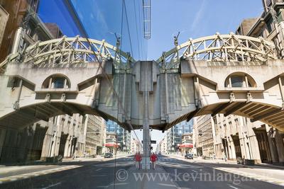 Skybridge, Rue Belliard / Belliardstraat, Brussels, Belgium