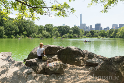 Chillin, Central Park, New York