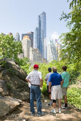 Tourists, Central Park, New York City
