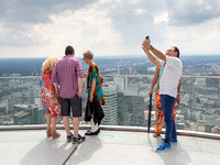 Selfie, Main Tower, Frankfurt, Germany