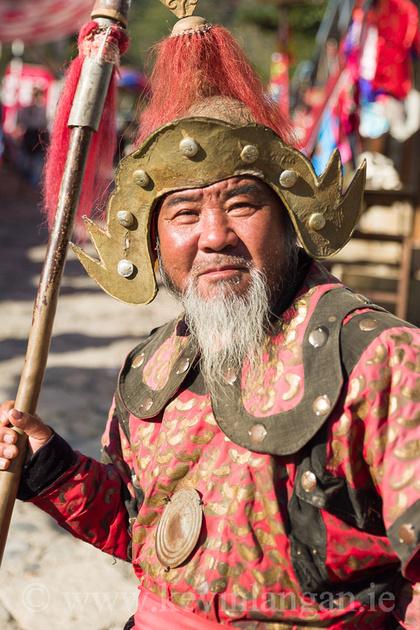 Chinese Warior, Great Wall of China, Mutianyu