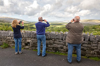 Tourists, the Burren, County Clare