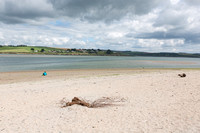 Girl on a Beach, Courtmacsherry, County Cork